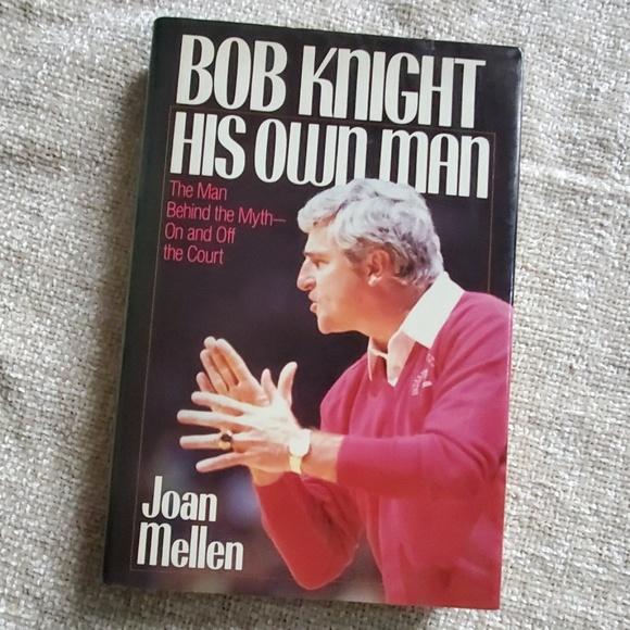 none Other - Bob Knight Book Joan Mellen Indiana IU Basketball